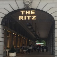 the ritz sign
