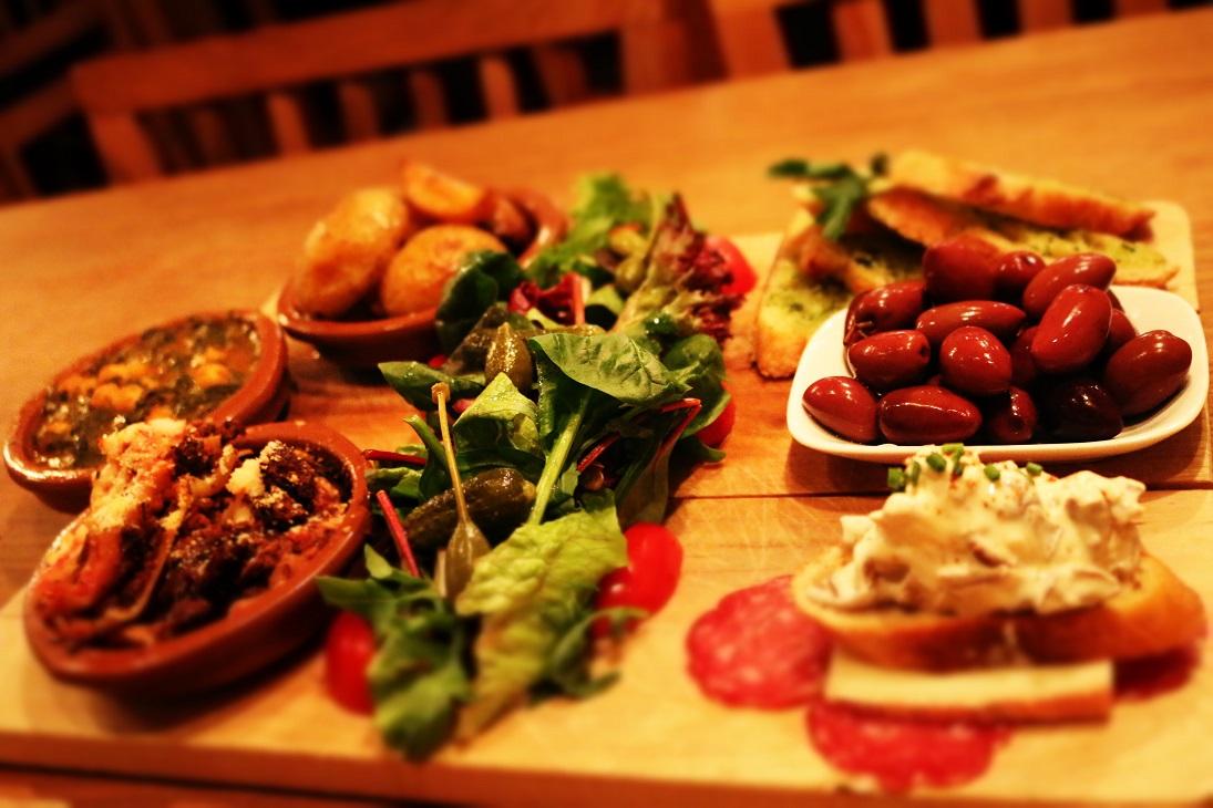 tapas olives moose lasagne hairy pig deli stockholm
