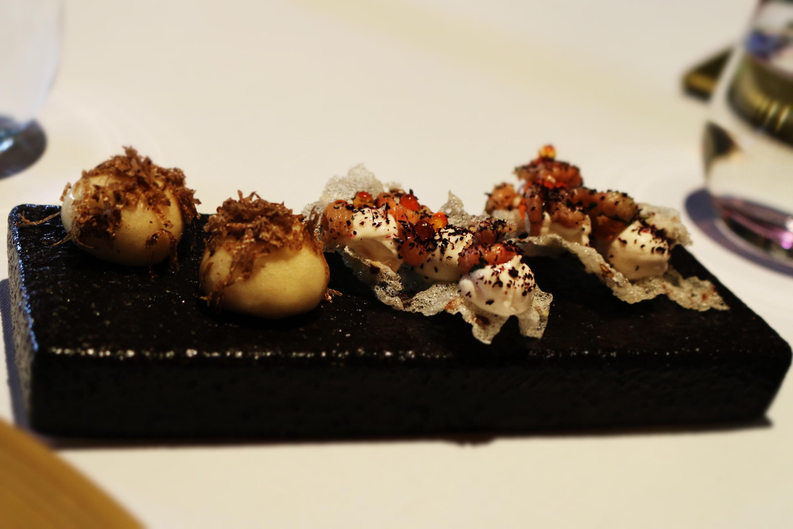 the latymer pennyhill park michelin star dining caviar