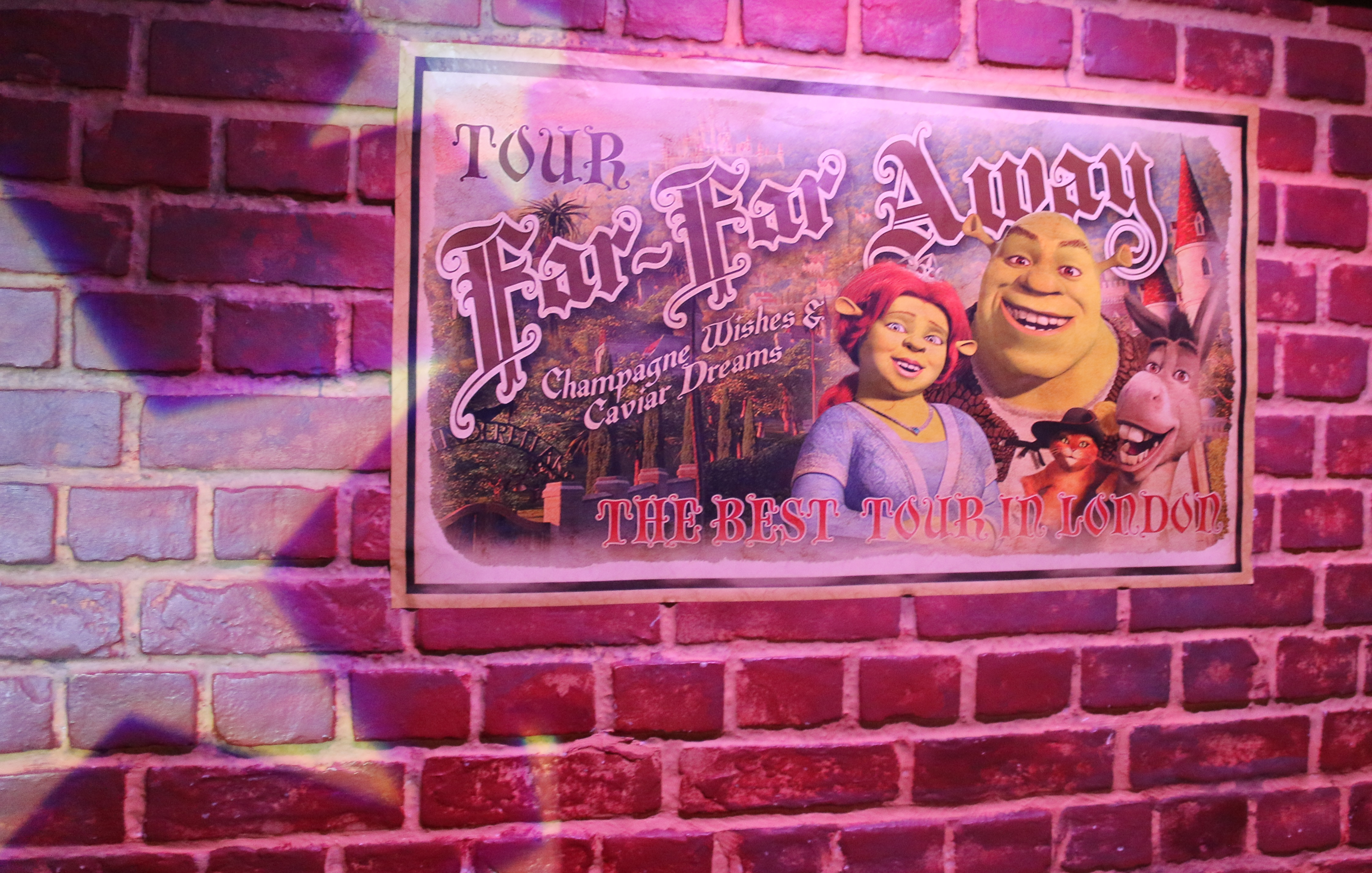 london shrek adventure
