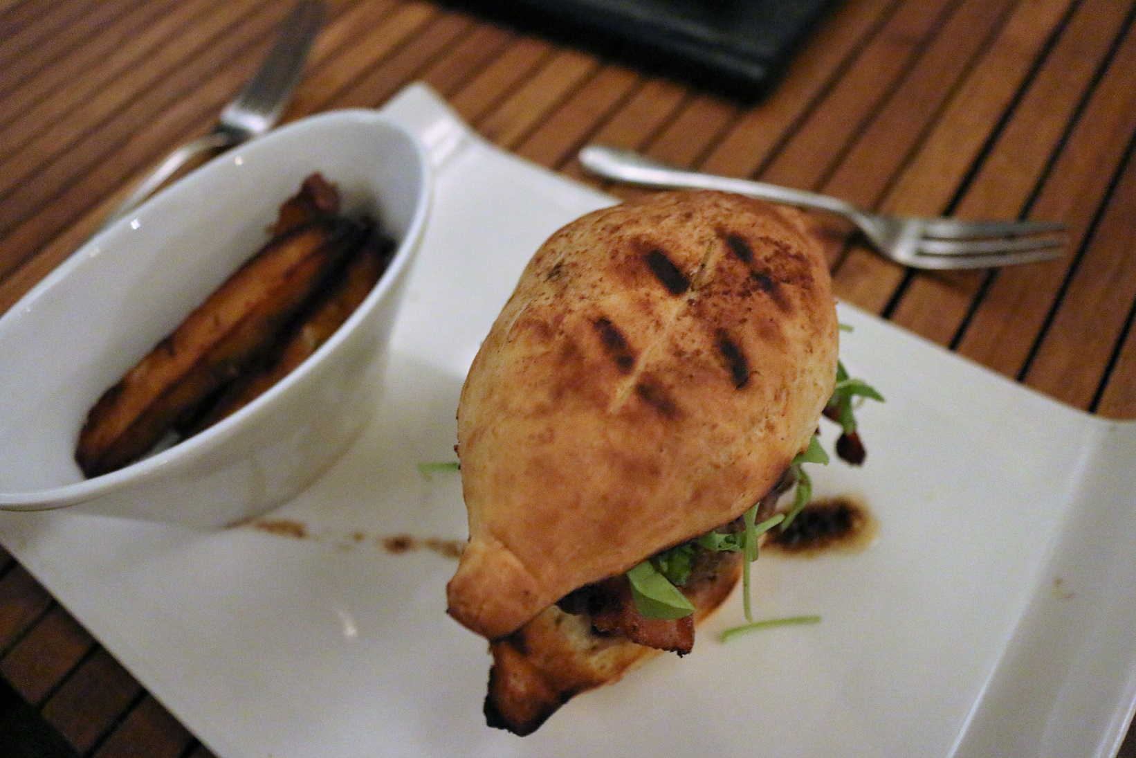 Boucan Hotel Chocolat St Lucia burger