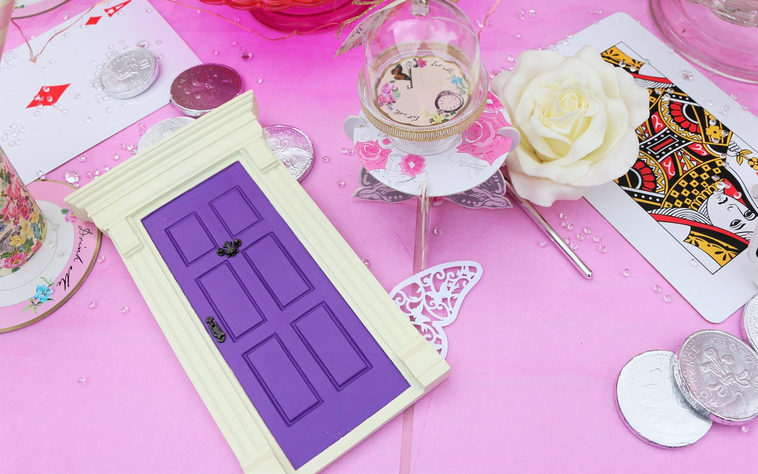 magical fairy door alice in wondereland theme party