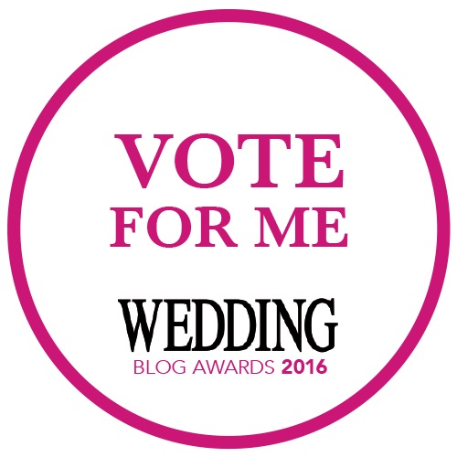 We are finalists in the Wedding Blog Awards 2016