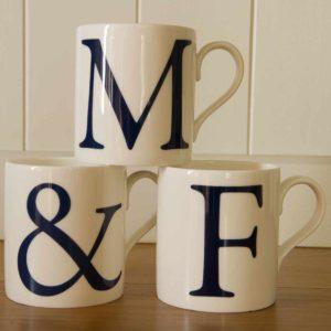Alphabet Initial Mugs - £24.99
