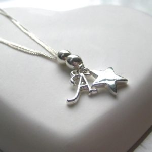Personalised Charm Initial Necklace - £19.99