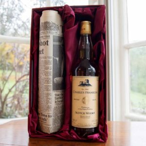 Personalised Malt Whisky & Original Times Newspaper Set - £99.99