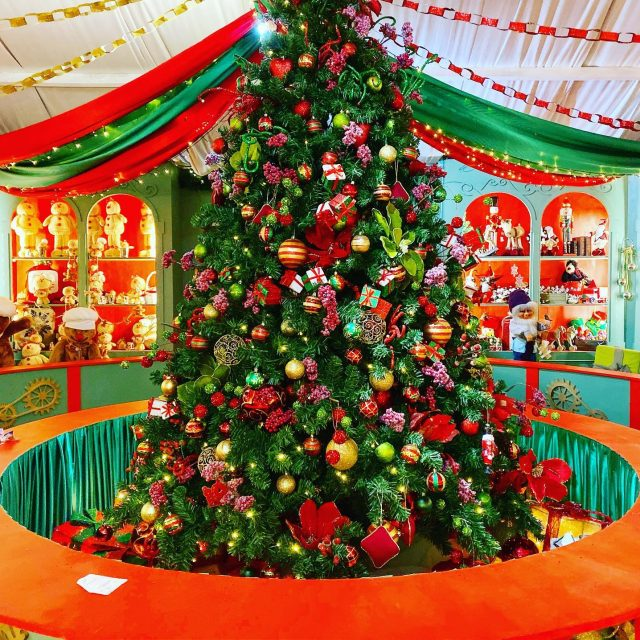 Santa's Grotto at Chessington Garden Centre