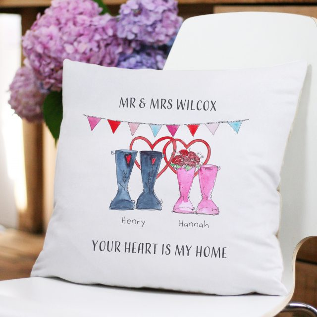 ENDED: Win a Personalised Cushion from This is Nessie for Valentine's Day