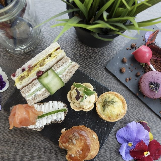 A Blooming Marvellous Flower Afternoon Tea at Lancaster London