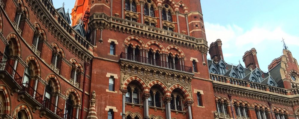 Gilbert Scott at The Renaissance St Pancras Renaissance Hotel