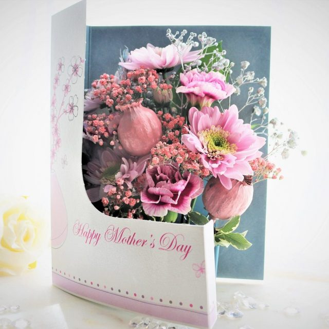 Ended:Win a Personalised Flowercard for Mother's Day