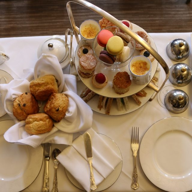 Afternoon Tea at the Draycott Hotel, Chelsea