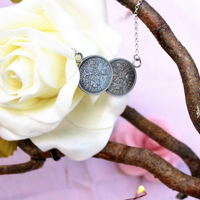 A Treasured Gift: Lucky Sixpence Necklace