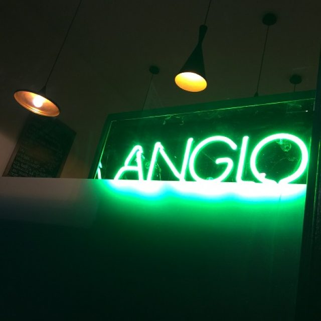 London's Newest Restaurant- Anglo, Farringdon